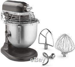 8-Quart Stand Mixer with Bowl Guard and Bowl Lift, KITCHEN AID, Dark Pewter