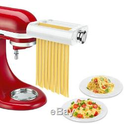 Antree 3 in 1 Pasta Roller Cutter Attachment for Kitchenaid Stand Mixer