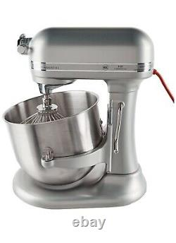 Brand New KitchenAid 8 Quart Commercial Stand Mixer Nickel Pearl
