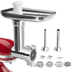 For Kitchenaid Stand Mixer Meat Grinder Pasta Roller Cutter Maker Attachment