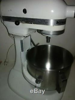 Hobart Kitchenaid K5-a 5 Qt. 10 Speed Lift Arm Stand Mixer With Attachments