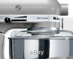 Kitchen Aid KSM 160 Artisan Stand Mixer Contour Silver Available In 15 Colors