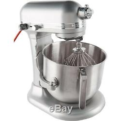 Kitchen Aid KSM8990NP Commercial Series 8 Qt Bowl Lift Stand Mixer, Nickel Pearl