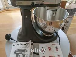 KitchenAid 4.3L Stand Mixer With Pouring Shield In Slate 5KSM95PSBSZ