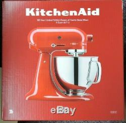 KitchenAid 5 Qt 325w Stand Mixer 100 Year Limited Edition Queen of Hearts