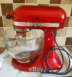 KitchenAid 5KSM156BCA Artisan 4.8L Stand Mixer Candy Apple Red