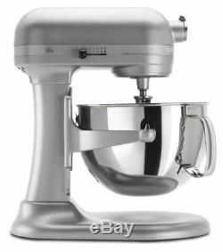 KitchenAid 6-Quart Pro 600 Bowl-Lift Stand Mixer Nickel Pearl