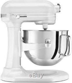 KitchenAid 7-Quart Pro Line Bowl-Lift Stand Mixer Frosted Pearl