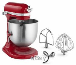 KitchenAid 8 Quart Commercial Stand Mixer (NSF Certified) Empire Red