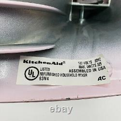 KitchenAid Artisan 5 Qt Mixer KSM150PSPK Pink Tested Working With Attachments