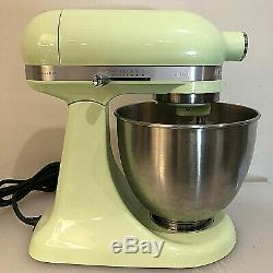 KitchenAid Artisan 5KSM3311XBHW 3.3 L Tilt Head Stand Mixer Honeydew
