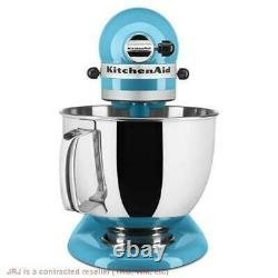 KitchenAid Artisan Series 5-Qt. Stand Mixer with Pouring Shield Crystal Blue