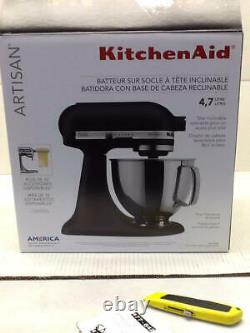 KitchenAid Artisan Series 5-Qt. Stand Mixer with Pouring Shield Imperial Black