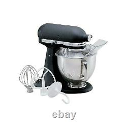 KitchenAid Artisan Stand Mixer with 4.8L Bowl in Cast Iron Black