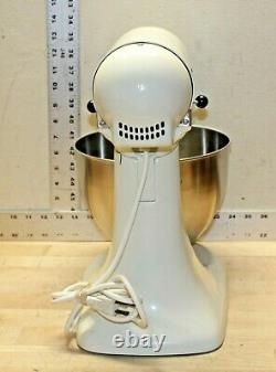 KitchenAid Classic Series Tilt-Head Stand Mixer K45SS with Bowl (Tested & Work)