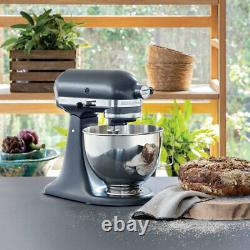 KitchenAid Electric Stand Mixer 4.3L Stainless Steel Bowl 10 Speed 3 Tools Dough