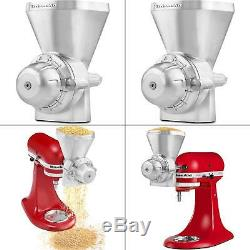 KitchenAid KGM Stand Mixer Grain Mill Metal Attachment Grinder NEW Free Shipping