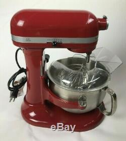 KitchenAid KP26N9X Professional 610 Bowl-Lift Stand Mixer-BARELY USED