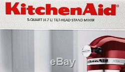 KitchenAid KSM150PS 325W Empire RED Stand Mixer NEW IN THE BOX LOOK
