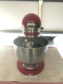 KitchenAid Ksm150PSER 5 Quart Tilt Head Stand Mixer Artisan Empire Red