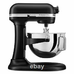 KitchenAid Pro 5 Plus 5 Quart Bowl-Lift Stand Mixer Onyx Black NEW SHIPS NOW