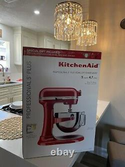 KitchenAid Professional 5 Plus Bowl-Lift Stand Mixer with Special Gifts BRAND NEW