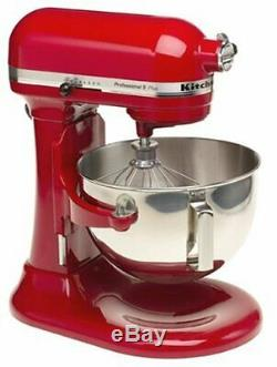 KitchenAid Professional HD Stand Mixer RKG25H0XER, 5-Qt, Empire Red