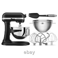 KitchenAid Professional Plus 5 Quart Bowl-Lift Stand Mixer withBundle RED KP25M0X
