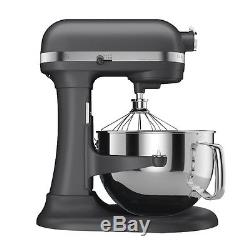 KitchenAid RKP26M1Xdp Pro 600 Stand Mixer 6 qt Dark Pewter Grey Super Large Capc