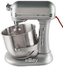 KitchenAid RKSM8990NP Commercial 8-Qt Bowl Lift NSF Stand Mixer Nickel Pearl