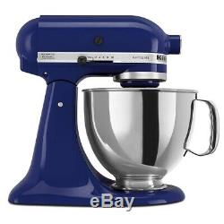 KitchenAid Refurbished 5-Quart Artisan Tilt-Head Stand Mixer Cobalt Blue