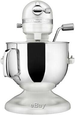 KitchenAid Refurbished 7-Quart Pro Line Bowl-Lift Stand Mixer Frosted Pearl