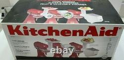 KitchenAid Stand Mixer Attachment Pack FPPA New Open Box