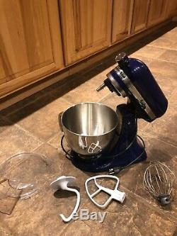 Kitchenaid Artisan 4.5 Qt Tilt Head Stand Mixer With Accessories