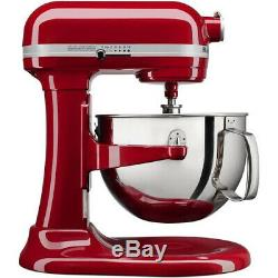 Kitchenaid Pro 600 Red Stand Mixer 6-qt Super Large Capacity withPouring Shield