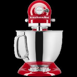 LIMITED SALE! KitchenAid 4.8L ARTISAN Stand Mixer 5KSM180 QUEEN OF HEARTS Red