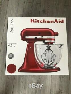 NEW KitchenAid 5KSM156BCA Artisan Stand Mixer with 4.8 Litres Bowl 300Watt Candy
