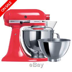 NEW KitchenAid Artisan KSM160 Watermelon Stand Mixer
