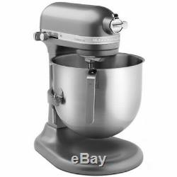 NEW UNOPENED KitchenAid Pewter 8 Qt. Commercial Stand Mixer Model KSM8990DP #333
