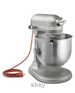 New KitchenAid 8 Quart Commercial Stand Mixer Nickel Pearl