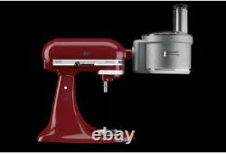 New KitchenAid ExactSlice Food Processor Attachment KSM2FPA For All Stand Mixers