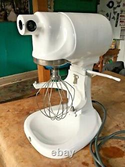 Vintage Hobart Kitchenaid Commercial Mixer Model G Accessories Whisk & Bowl